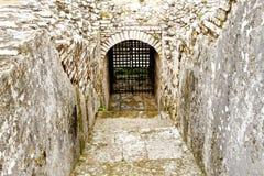 Catacomb door Stock Photo