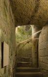 Catacomb Stairs Stock Photo