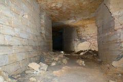 Catacombe di Odessa Fotografia Stock Libera da Diritti