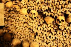 catacombe di Parigi Fotografie Stock Libere da Diritti