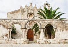 Catacombe Di San Giovanni Syracuse, Sicily Włochy Obraz Stock