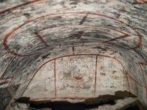 Catacombe di San Pancrazio debajo de la basílica en Trastevere, ROM Imagenes de archivo