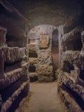 Catacombe di San Pancrazio under the basilica in Trastevere, Rom Royalty Free Stock Image