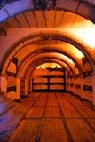 Catacomben van San Francisco in Porto Stock Foto's