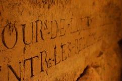 catacombes de Париж Стоковое Фото