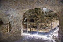 Catacombes de StPaul's, Rabat, Malte Images libres de droits