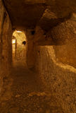 Catacombs cristiani, Rabat, Malta Fotografie Stock Libere da Diritti