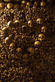 Catacombs of Paris. Royalty Free Stock Images