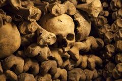 Catacombs of Paris. Stock Image