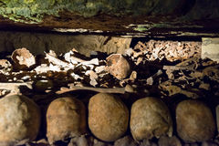 The Catacombs of Paris Royalty Free Stock Photo