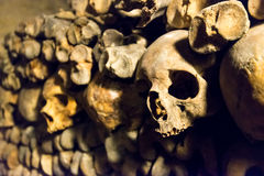 The Catacombs of Paris. France Royalty Free Stock Image