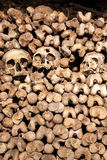 The Catacombs of Paris, France Stock Photos