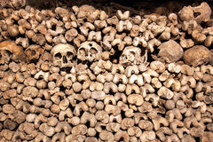 The Catacombs of Paris, France Royalty Free Stock Images