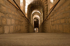 The catacombs of Paris. A most peculiar place Royalty Free Stock Photos