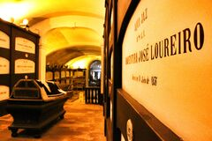 Free Catacombs Under Saint Francis Church In Porto Royalty Free Stock Image - 170246756
