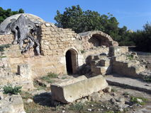 catacombyttersida Arkivbilder
