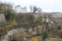 Catacumbas em Luxemburgo Imagem de Stock