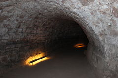 Catacumbas en Sarrebruck Foto de archivo