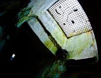 Catacumbas militares subterráneos Fotos de archivo libres de regalías