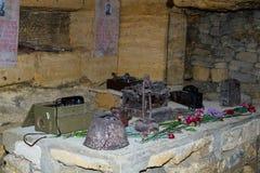 Catacumbas Odessa imagenes de archivo
