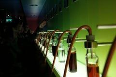 Catador del olor de la vodka foto de archivo libre de regalías