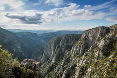 Catak kanjon Royaltyfria Bilder