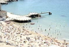 Catalan beach Royalty Free Stock Photography