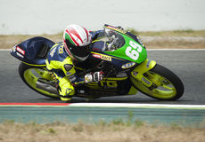 CATALAN CHAMPIONSHIP OF MOTORCYCLING - MARCOS RUDA Royalty Free Stock Photography