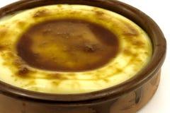 Catalan cream delicious dessert with sugar toast Stock Photo