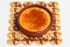 Catalan Creme. Dessert Stock Image