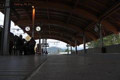 Catalan do trem de Monserrate imagens de stock