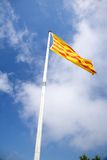 Catalan flag Stock Images