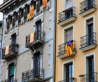Catalan flags Royalty Free Stock Photos