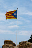 Catalan independence flag Stock Images