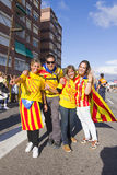 Catalan independence movement Stock Photo