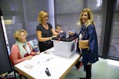 Catalan independence referendum Royalty Free Stock Image
