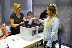 Catalan independence referendum Royalty Free Stock Photos