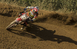 CATALAN LEAGUE OF MOTOCROSS Stock Photos