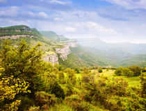 Catalan mountains landscape. Collsacabra Stock Photos