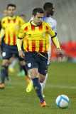 Catalan player Jordi Alba Royalty Free Stock Photography