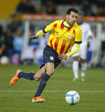 Catalan player Sergio Busquets Royalty Free Stock Photography