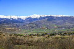 Catalan Pyrenees valley Royalty Free Stock Photos