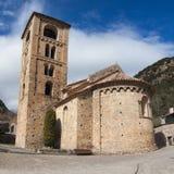 Catalan romanesque church Stock Photo