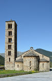 Catalan Romanesque church of the vall de Boi Stock Photography