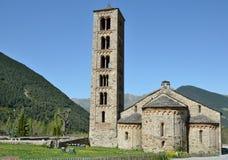 Catalan Romanesque church of the vall de Boi Royalty Free Stock Photos