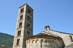 Catalan Romanesque church of the vall de Boi Stock Images