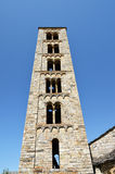 Catalan Romanesque church of the vall de Boi Stock Photos