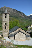 Catalan Romanesque church in the vall de Boi Royalty Free Stock Images