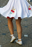 Catalan Spanish Dance Royalty Free Stock Photo