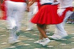 Catalan Spanish Dance Stock Photography